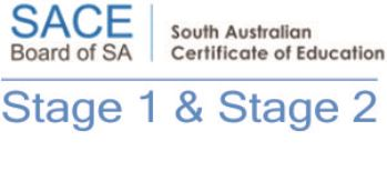 SACE STAGE 1 & 2
